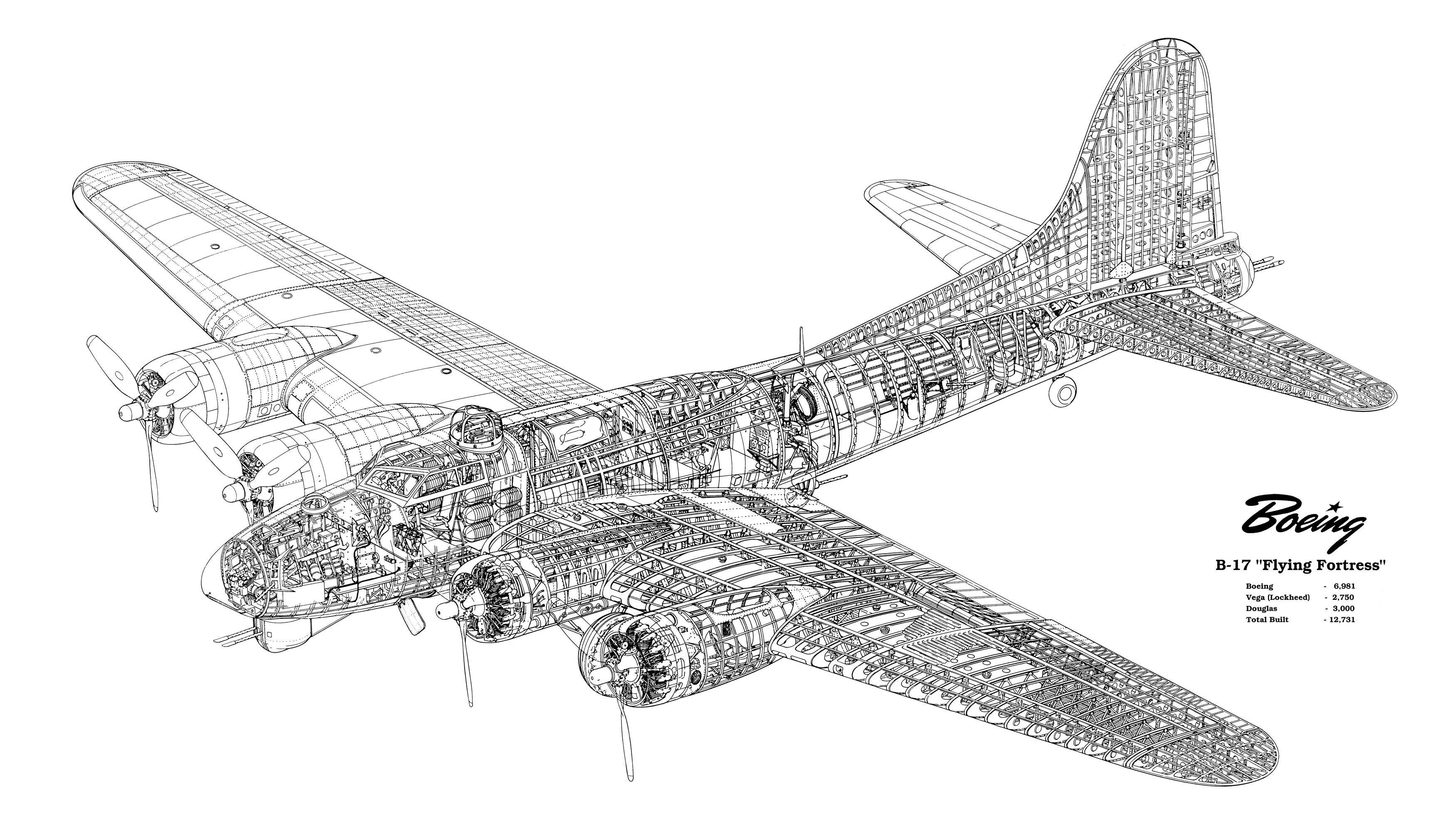 B 17 Engine Diagram Schematic Diagrams P 51 Boeing Drawings Or Schematics Diy Enthusiasts Wiring U2022 Of The North American