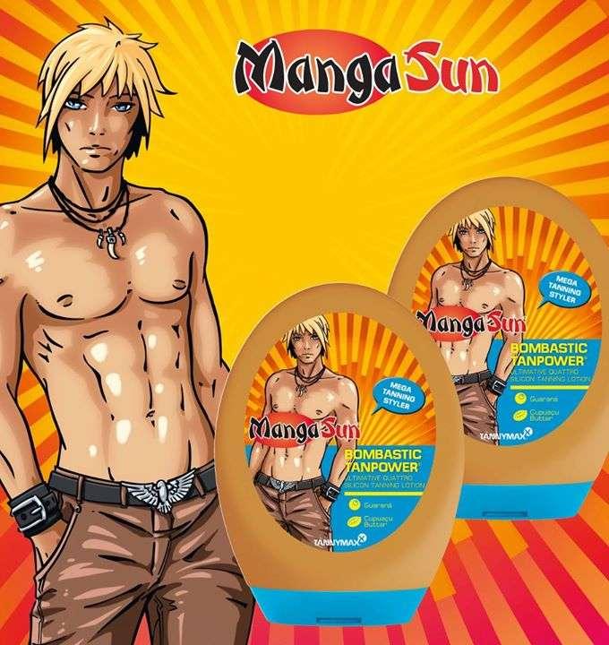 Mangasun ultimate quattro silicone Tanning lotion - krem do opalania dla mężczyzn