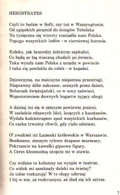 Poezja Jan Lechoń Wiersze 1987 54470810